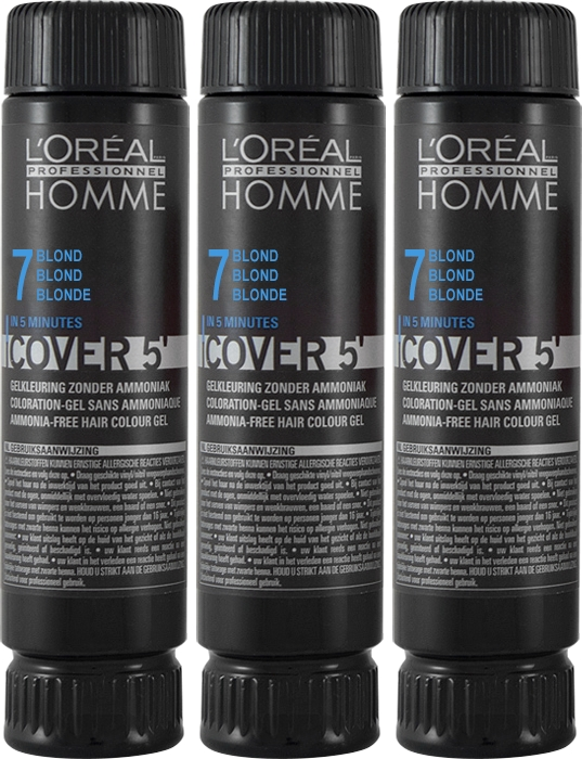 Set Homme Cover 5'  3x50ml