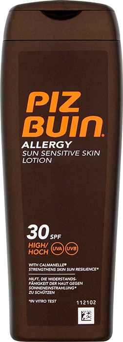 Allergy Lotion SPF30 Sun Sensitive Skin Lotion