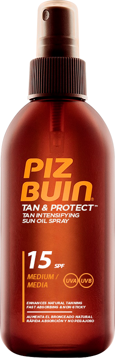 Piz Buin Tan Intensifying Sun Oil Spray SPF15