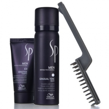 Set Wella SP Men Gradual Tone Black Champu 30ml +Espuma activadora 60ml