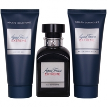 Set Agua Fresca Extreme 120m -Aftershave 100ml - Gel 100ml
