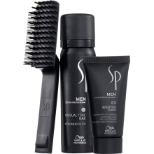 Set Wella SP Men Gradual Tone Black Champu 30ml + Espuma activadora 60ml