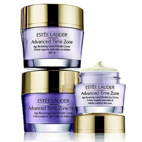 Set E. Lauder Advanced Time Zone Day SPF15 50ml + Night 50ml + Zone Eye 15ml