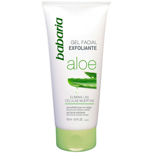 Gel Facial Exfoliante Aloe