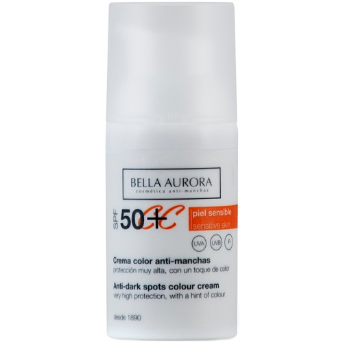 CC Cream Anti-manchas Piel Sensible SPF50+ 30ml