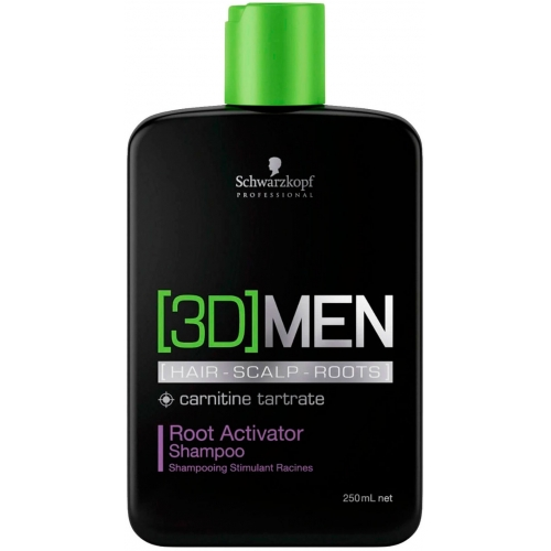 3D Men Root Activator Shampoo